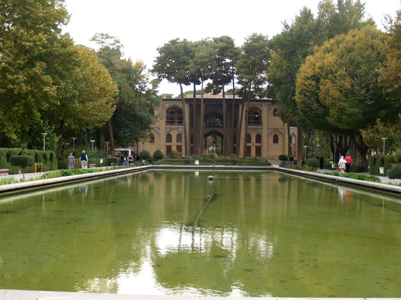 Pool Of The Graceful Pleasure Pavilion At Hasht Behest U2014 Isfahan. Photos:  Horn