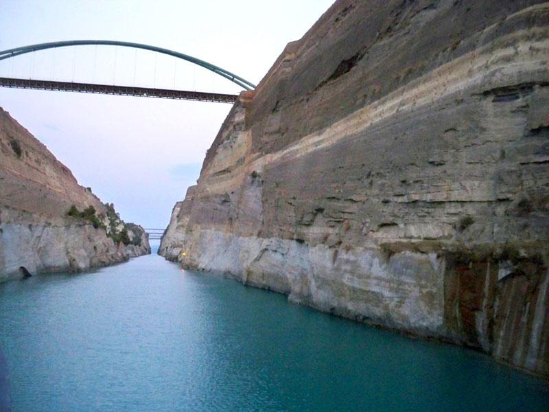 the corinth canal international travel news