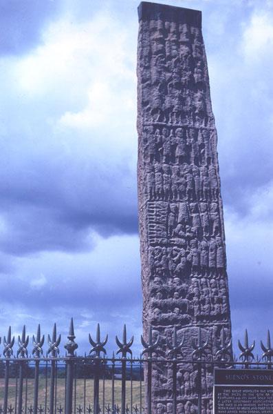 Sueno S Stone Near Forres Scotland International